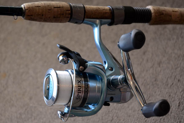 Shimano Spirex 2500FG review