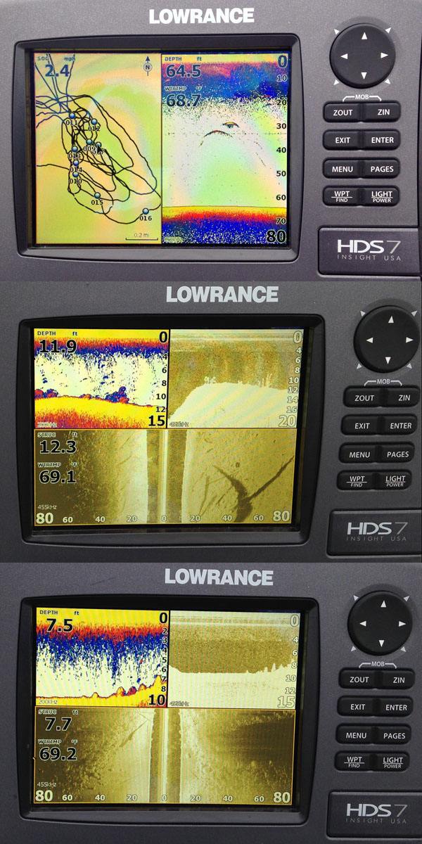 Lowrance HDS-7 Gen2 with StructureScan HD